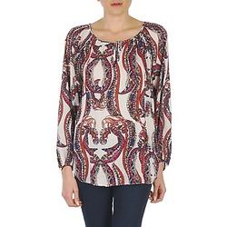 Textiel Dames Tops / Blousjes Antik Batik BARRY Oranje / Multi