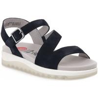 Schoenen Dames Sandalen / Open schoenen Jana SANDAL NAVY Blu