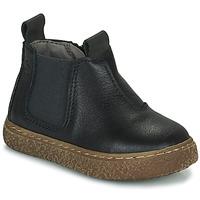 Schoenen Jongens Laarzen Citrouille et Compagnie PESTACLE Zwart