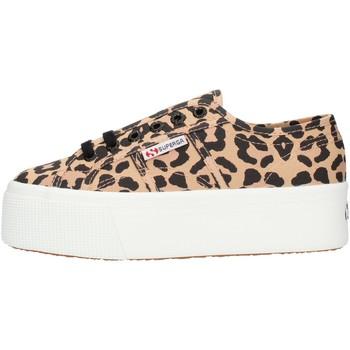 Schoenen Dames Hoge sneakers Superga S11317W Leopard