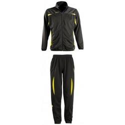 Textiel Trainingspakken Sols CAMP NOU Negro-amarillo Negro