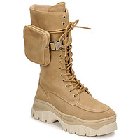 Schoenen Dames Laarzen Bronx JAXSTAR HIGH Beige