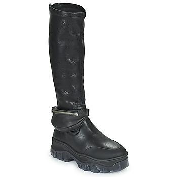 Schoenen Dames Laarzen Bronx JAXSTAR HIGH Zwart