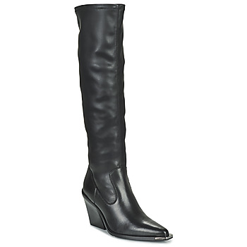 Schoenen Dames Hoge laarzen Bronx NEW KOLE Zwart