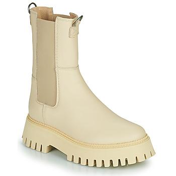 Schoenen Dames Laarzen Bronx GROOV Y Beige