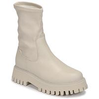 Schoenen Dames Laarzen Bronx GROOV Y Wit