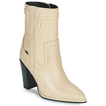 Schoenen Dames Hoge laarzen Bronx NEXT AMERICANA Beige