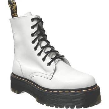 Schoenen Dames Laarzen Dr Martens Jadon Wit leer
