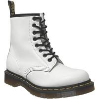 Schoenen Dames Laarzen Dr Martens 1460 smooth Wit leer