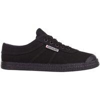 Schoenen Heren Lage sneakers Kawasaki Teddy canvas shoe - black solid Zwart