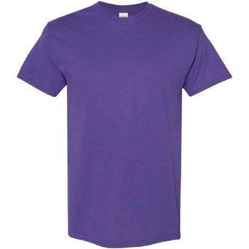 Textiel Heren T-shirts korte mouwen Gildan 5000 Lila