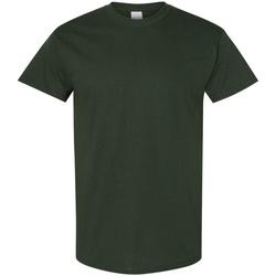 Textiel Heren T-shirts korte mouwen Gildan 5000 Bosgroen
