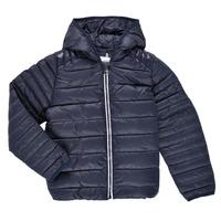 Textiel Kinderen Dons gevoerde jassen Aigle ANITA Marine