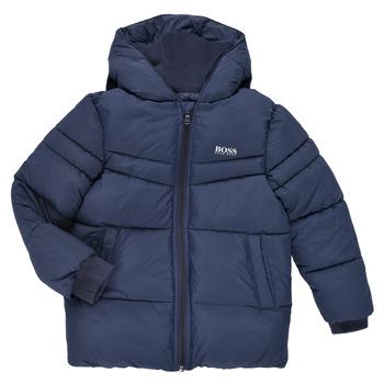 Textiel Jongens Dons gevoerde jassen BOSS DOLINA Marine