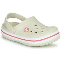 Schoenen Kinderen Klompen Crocs CROCBAND CLOG K Beige / Oranje