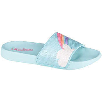 Schoenen Kinderen slippers Skechers Sunny Slides-Dreamy Steps Bleu