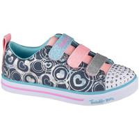 Schoenen Kinderen Lage sneakers Skechers Sparkle Lite Heartsland Bleu marine