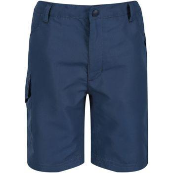 Textiel Kinderen Korte broeken / Bermuda's Regatta  Donkere Denim