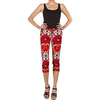 Textiel Dames Korte broeken Manoush PANTALON POPPY Rood