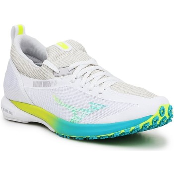 Schoenen Dames Running / trail Mizuno Wave Duel 2 U1GE206042 grey, white, yellow