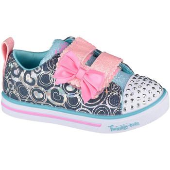Schoenen Kinderen Fitness Skechers Sparkle Lite-Lil Heartsland Grise