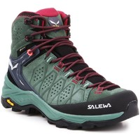 Schoenen Dames Wandelschoenen Salewa WS Alp Trainer 2 Mid GTX 61383-5085 olive green