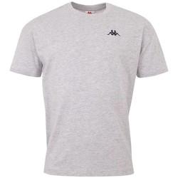 Textiel Heren T-shirts korte mouwen Kappa Veer T-Shirt Grise