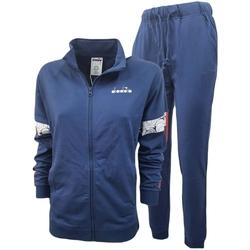 Textiel Heren Trainingspakken Diadora Fz Core Blauw
