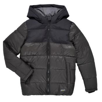 Textiel Jongens Dons gevoerde jassen Jack & Jones JJVENUS HEAVY PUFFER Zwart