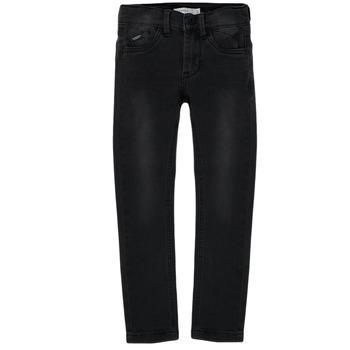 Textiel Jongens Skinny jeans Name it NKMPETE DNMTONSONS Zwart