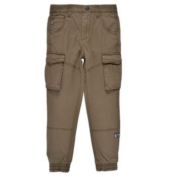 Textiel Jongens Cargobroek Name it NITBAMGO Kaki