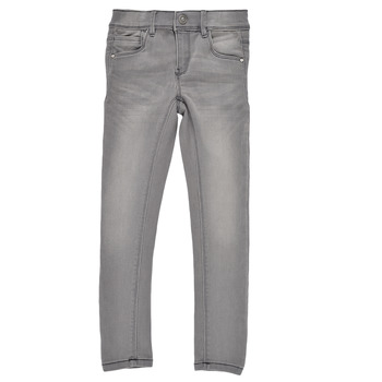 Textiel Meisjes Skinny jeans Name it NKFPOLLY DNMTASIS Grijs