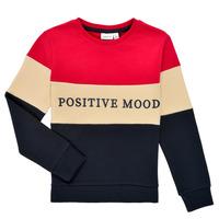 Textiel Meisjes Sweaters / Sweatshirts Name it NKFLIBEL LS SWEAT Multicolour