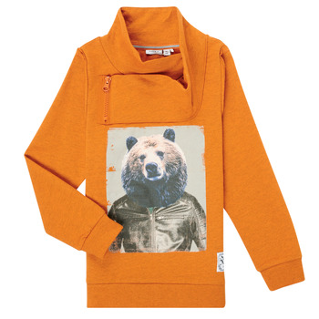 Textiel Jongens Sweaters / Sweatshirts Name it NKMKUVAU LS SWE Oranje