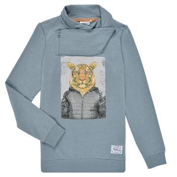 Textiel Jongens Sweaters / Sweatshirts Name it NKLKUVAU LS SWE Blauw