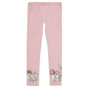 Textiel Meisjes Leggings Name it NMFTHUMPER ENGLA LEGGINGS Violet