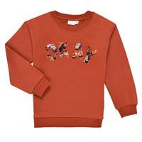 Textiel Meisjes Sweaters / Sweatshirts Name it NKFOCALI LS SWEAT Rood