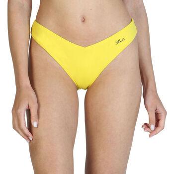 Textiel Dames Bikinibroekjes- en tops Karl Lagerfeld - kl21wbt05 Geel