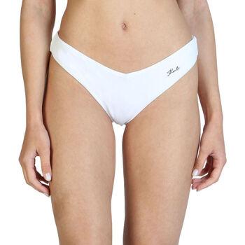 Textiel Dames Bikinibroekjes- en tops Karl Lagerfeld - kl21wbt05 Wit