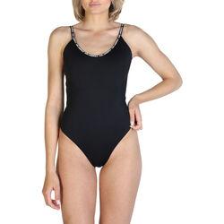 Textiel Dames Badpak Karl Lagerfeld - kl21wop01 Zwart