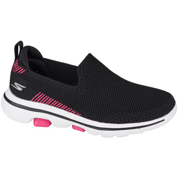 Schoenen Kinderen Instappers Skechers Go Walk 5 Clearly Comfy Noir