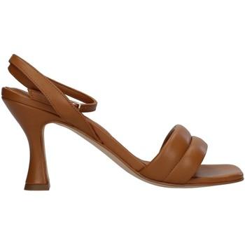 Schoenen Dames Sandalen / Open schoenen Paola Ferri D7439 BROWN
