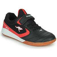 Schoenen Kinderen Lage sneakers Kangaroos K5-COURT EV Zwart / Rood