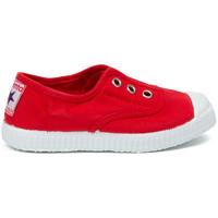 Schoenen Kinderen Tennis Cienta Chaussures en toiles bébé  Tintado rouge