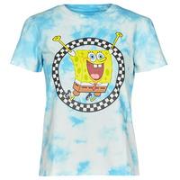 Textiel Dames T-shirts korte mouwen Vans WM VANS X SPONGEBOB Blauw
