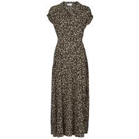 Textiel Dames Lange jurken Betty London PARILLA Zwart / Multicolour
