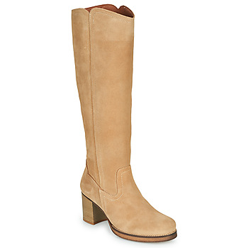 Schoenen Dames Hoge laarzen Casual Attitude PASTILLE Beige
