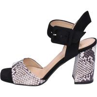 Schoenen Dames Sandalen / Open schoenen Moga' Sandalen BH74 Zwart