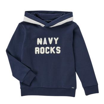 Textiel Jongens Sweaters / Sweatshirts Ikks SEPIA Marine