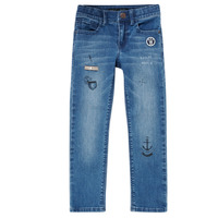 Textiel Jongens Skinny jeans Ikks  Blauw